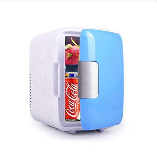LKJCZ Auto-Kühlung Und Erwärmung Mini-Kühlschrank, Tragbare Icebox-REISEBOX, 4L 12V Kühler & Warmer Kühlschrank Heizung Lebensmittel Elektro-Mini-Kühlschrank Für Zu Hause, Büro, Auto Oder Boot