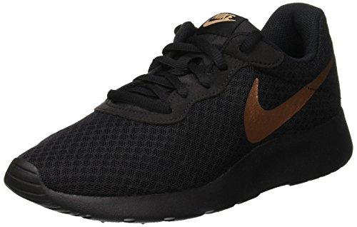 Nike Damen Wmns Tanjun Gymnastikschuhe, Schwarz (Black/Mtlc Red Bronze 005), 40 EU