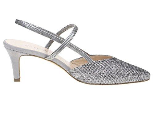 Gabor 550.62.21, Scarpe col tacco donna Argento (argento)