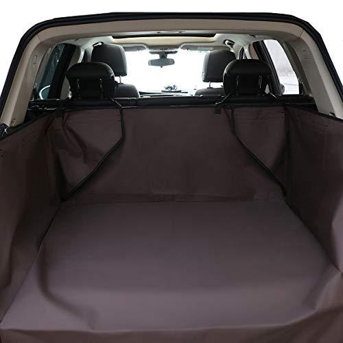 HONCENMAX Hund Fahrzeug Cargo-Liner-Abdeckung Haustier Sitzbezug Matte Nicht Rutschend Wasserdicht Universal für Auto SUV LKW Jeeps Vans (Jeep-auto-matten)