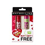 Maybelline New York Baby Lips Combo, Berry Crush, 4gwith Free Watermelon Smooth Lip