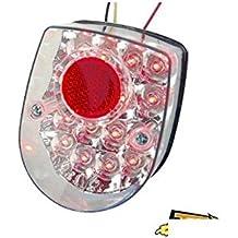 Fuego Ar moto tun R * A LEDs blanco adaptable Honda Dax con Eclairage de