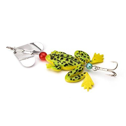 boldscript (TM) en caoutchouc souple appâts leurres Grenouille Crap Leurre de pêche Bionic Swimbait Crankbait Pesca articles de pêche Outil Crochet claw-like yc185-sz