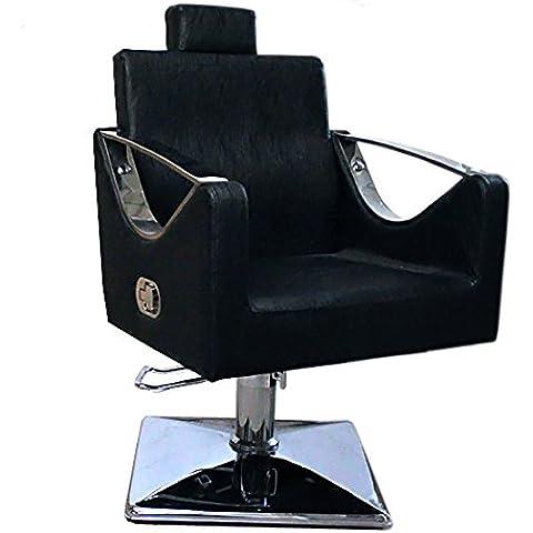 Negro Salón que labra la silla de la manera del peluquero peluquería 9850