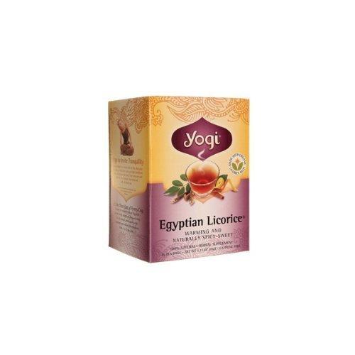 Egyptian Spice (Licorice Egyptian Spice (17bag) - x 2 *Twin DEAL Pack* by YOGI TEAS - AYURVEDIC)