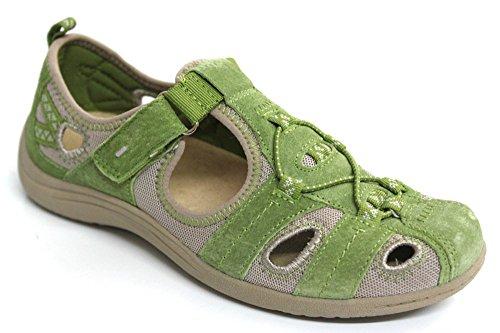 Earth Spirit pour Femme Coupe Décontractée Out Sandales d'été sur antidérapant chaussures taille 3–8 Vert - vert