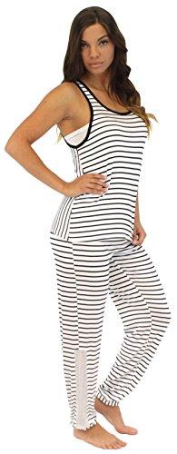Pajama Heaven Ladies Viscose Soft Sleeveless Top and Lightweight Bottoms Pyjamas Sleepwear Set Test