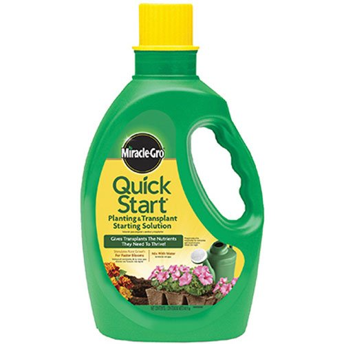 SCOTTS MIRACLE GRO - Liquid Quick Start Plant Food, 4-12-4, 48-oz.