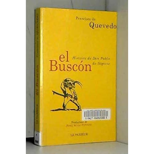 El buscon-Histoire de Don Pablo de Ségovie