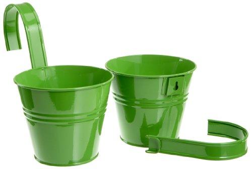 siena-garden-722610-blumentopf-2er-set-grun-inkl-halter