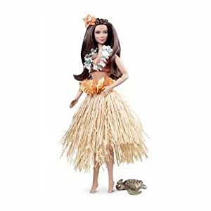 Barbie 3443 Barbie Collector Hawai - Barbie Sammelpuppe Reise Thema Hawai