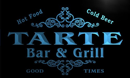 u44431-b TARTE Family Name Bar & Grill Home Decor Neon Light Sign Barlicht Neonlicht Lichtwerbung - Bar-tarte