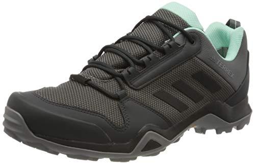 adidas Damen Terrex AX3 GTX W Trekking-& Wanderhalbschuhe, Grey Core Black Clear Mint, 38 2/3 EU