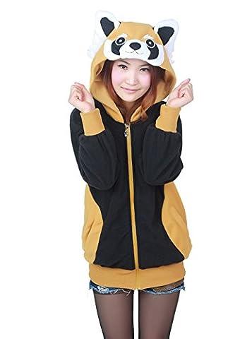 Costumes Femmes Unicorn - KiKa Monkey Cosplay Unicorn Animal Hoodie Veste