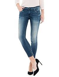 Salsa - Jeans capri avec fermetures éclair - Femme