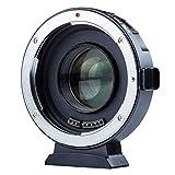 VILTROX EF-M2II Auto-focus Adaptateur de Monture d'objectif 0,71x Speed-booster Convertisseur pour Canon EF Mount Lens à M4/3 Caméra GH4 GH5 GF6 GF1 GX1 GX7 GX85 E-M5 E-M10 E-M10II E-PL5 PEN-F