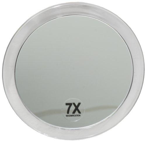Fantasia - 1356 - Miroir grossissant ( x 7) - 2 ventouses - Plastique - ø 15 cm