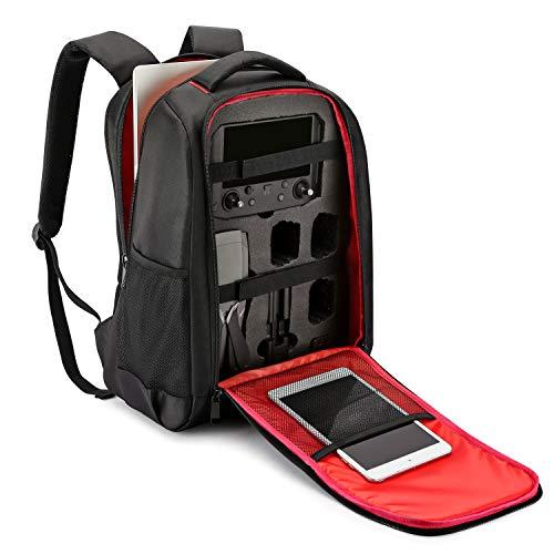Penivo Mavic 2 Smart Controller Rucksack,Schützend Reise Wasserdicht Tasche für DJI Mavic 2 Pro & Zoom Drohne Case Zubehör -