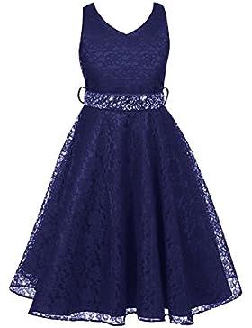 Free Fisher Mädchen Abendkleid Spitzenkleid