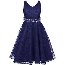 5a970e84f12 Alle Ergebnisse für Festliches Kleid 158 anzeigen. Free Fisher Mädchen  Abendkleid Spitzenkleid