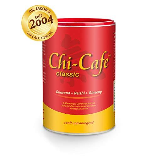 Chi-Cafe classic I 400 g kaffeehaltiges Getränkepulver mit Akazienfaser-Ballaststoffen I für eine gute Verdauung und Verträglichkeit I mit Reishi-Pilz, Ginseng und Guarana I vegan, 66 Tassen