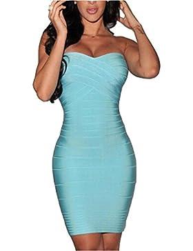 Vestido atractivo atractivo del vestido de la cadera del bolso de la señora Wrap Bump del pecho Europa y América