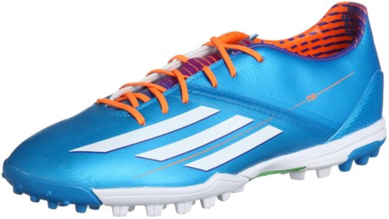 Adidas Schuhe Multinockenschuhe F30 Fußballschuhe TRX TF solblu/runwh  Größe Adidas:12