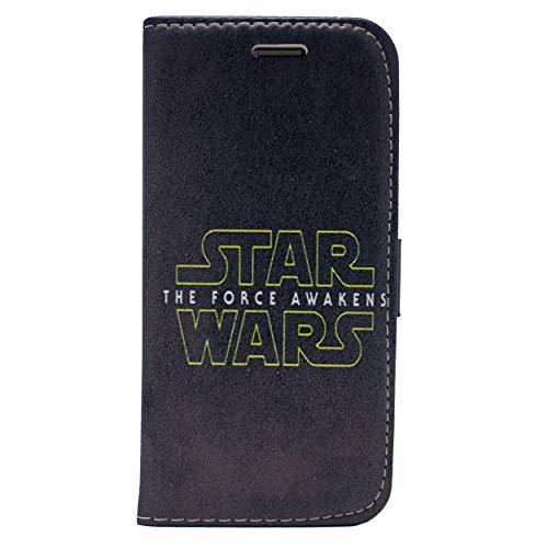 iPhone 5/5s Star Wars PU Lederner Schlag Mappen Hülle / Hülle Mit Magnetband für Apple iPhone 5s 5 SE / Schirm-Schutz und Tuch / iCHOOSE / Force Awakens Ep VII