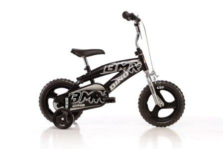 DINO-BIKES-BMX-125XC-12-pouce-KIDSBIKE-boy-vlo-bicyclette-enfant-velo-bcane-vlocipde-rouler-en-vlo-faire-du-vlo-noirstabilisateurs-12pouce-2-5-ans-85-110cm