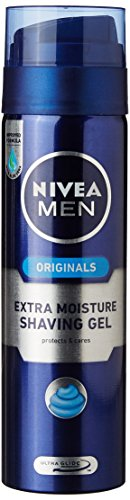 Nivea Men Extra Moisture Shaving Gel - 200 ml with Free All in 1 Face Wash - 50 ml