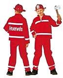 Rubies 1 2442 104 - Feuerwehrmann 2-teilig Größe 104