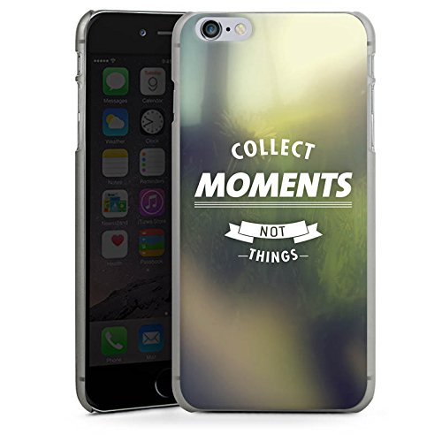 Apple iPhone X Silikon Hülle Case Schutzhülle Moment Sprüche Motivation Hard Case anthrazit-klar