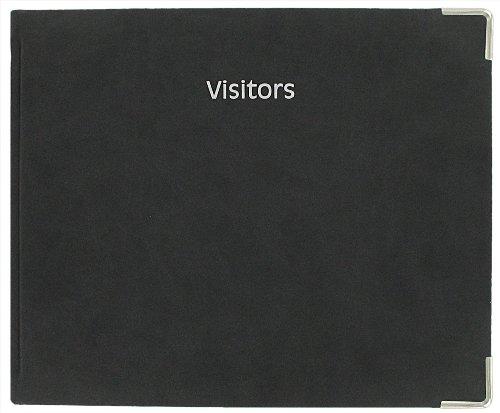 Letts Connoisseur - Registro dei visitatori, colore nero (lingua inglese)