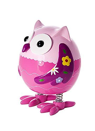 *Mousehouse Gifts Tirelire Hibou Chouette Rose pour Filles Cadeau Meilleure offre de prix