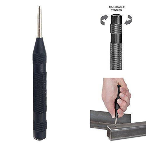 JTENG Automatische Körner mit einstellbarem Hub Selbstschlagender Automatik Körner werkzeug Durchtreiber splinttreiber 130 mm