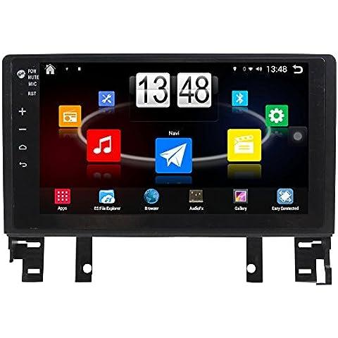 Generic 10,1pulgadas android 4.4.4coche reproductor de DVD para Mazda Old 6200620072008Auto Navegación GPS, Wi-Fi, Bluetooth Radio 1,6GB CPU DDR3RK3188Series (PX3) pantalla táctil capacitiva 3G Car Audio Estéreo Agenda RDS AUX Espejo Link 16G Quad