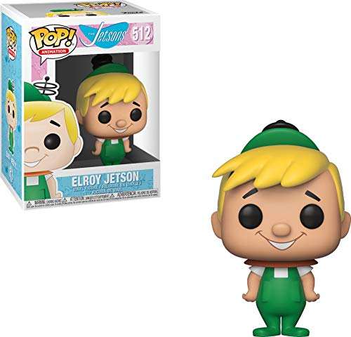 Funko- Pop Vinyl: Animation: Hanna Barbera: Jetsons: Elroy Idea Regalo, Statue, COLLEZIONABILI, Comics, Manga, Serie TV, Multicolore, 35528
