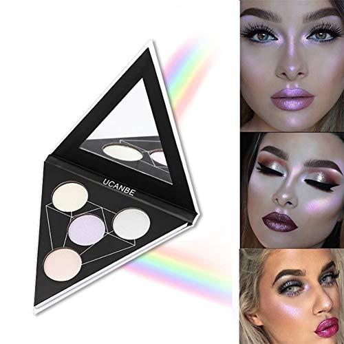 Huoju 2018 Newest Design Maquillage Correcteur Contour Palette Triangle-Les superpositions de couleurs créent un aspect différent