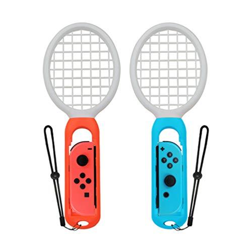idlehour Tennisschläger für Nintendo Switch, Perfekte Erfahrung Hochwertige, Hochwertige Joy Con Controller für Tennis Aces Game