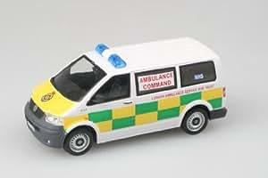 cararama abrex ambulance command VW T5 van 1.43 scale diecast model by Cararama