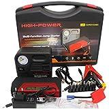 High-Power 50800mAh Portable Car Jump Starter & Air Compressor
