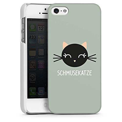 Apple iPhone 6 Housse Étui Silicone Coque Protection Chat Chat Chaton CasDur blanc