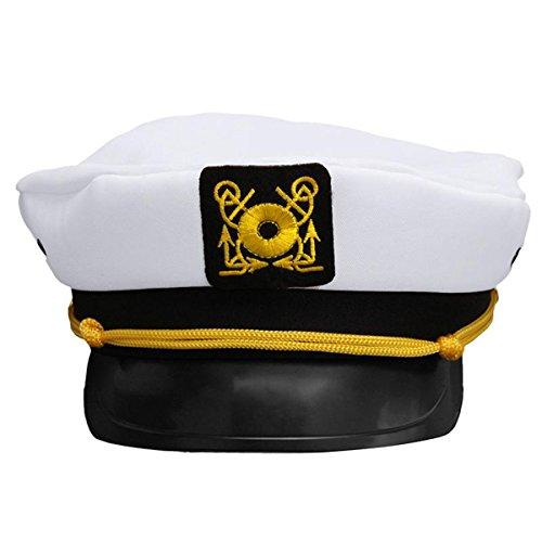 Desconocido cappello di Capitano Attacco di marinaio Marino Marina ... 840f262aee37