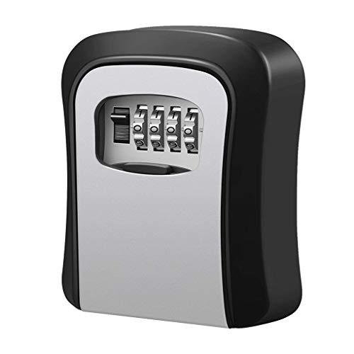 censhaorme Multifunktionale Wand befestigter 4-stellige Kombination Key Storage Lock Frischhalteboxen für Haus/Auto-Schlüssel