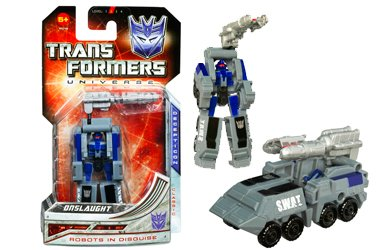Transformers Universe Legends Wave 1 Set of 3-Starscream, Red Alert And Onslaught