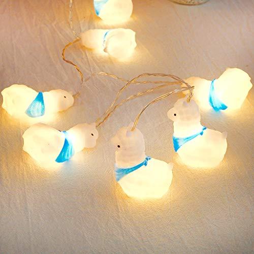 Tier Nachtlicht String Strap Lights Schreibtisch LED Lampe für Kinder Baby Schlafzimmer 10LED,LED Lichterketten Lichterkette Weihnachtsbaum Requisiten Party Dekoration -