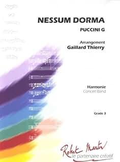 ROBERT MARTIN PUCCINI G. - GAILLARD T. - NESSUM DORMA