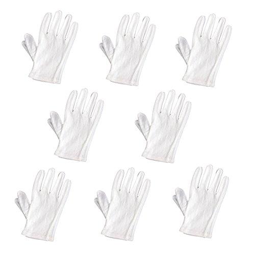 ROSENICE Leichte Nylon Arbeitshandschuhe 8 Paare (Baumwoll-münzen-satz)