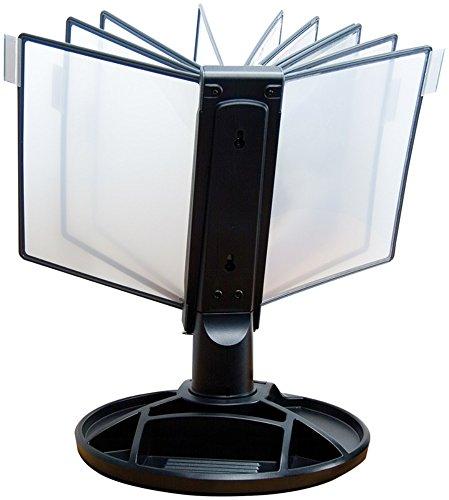 Aidata FDS021L Executive Aktentasche mit Becken Netzteil–-Halterung 10Seiten (schwarz) (48,3cm H x 53,3cm L x 35,6cm D)