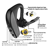 Tor Ondo Bluetooth Headset kopfh?RER Stereo In Ear ohrh?RER con microfono, unilaterale Bluetooth Headset F ¨ ¹ R iPhone 766S 6Plus 6S Plus 5s 55C